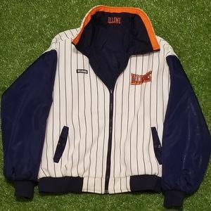 Vintage Columbia University of Illinois Jacket